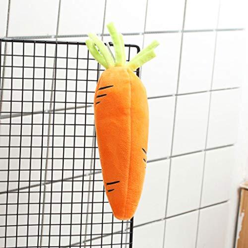 LLKK Estuche de lápices Estuche Multifuncional para lápices con Dibujos Animados Bonitos de Zanahoria para Estudiantes,Bolsa de papelería de Gran Capacidad para la Escuela Primaria para niños