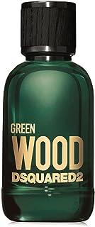 DSQUARED2 Profumo Per Uomo Eau De Toilette - Linea Green Wood, Fragranza A Base Di Legno, Forte E Persistente - Spray, 100 ml