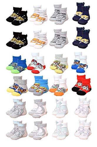 Le set de 12 paires de chaussettes pour la naissance d'un garçon
