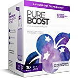Pureboost Clean Energy Drink Mix + Immune System Support. Sugar-Free Energy with B12, Multivitamins, Antioxidants, Electrolytes (Acai Alert, 30 Count)