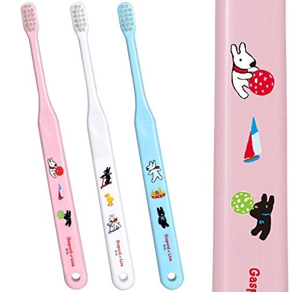 魔女広告主恐ろしいCi602 仕上げ磨き用歯ブラシ Mふつう リサとガスパール 5本入