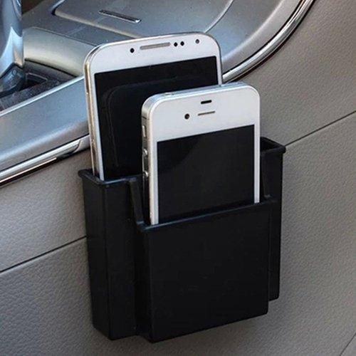 YSHtanj Interieur Opslag Mobiele Telefoonhouder Multifunctionele Auto Telefoon Box Vrachtwagen Zijkant Mini Opbergtas Potloodhouder