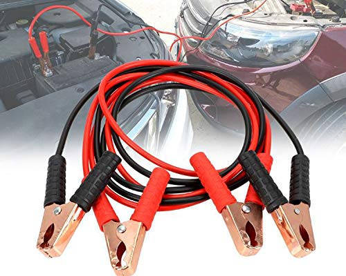WolkomHome Jumper Cable Booster cable car Battery charger 500-Amp to 700-Amp Capacity 2-mtr Universal for All Cars