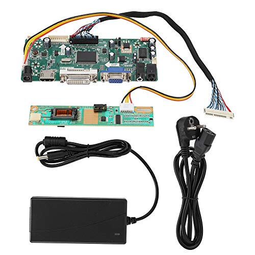 LCD-monitor Driver Board Kit, M.NT68676.2A HDMI/VGA/DVI LCD Dispaly Controller Board Module Kits voor 1920x1080 Max 10-240V15inch/15.4inch/17inch/7.1inch TFT LCD-paneel(EU)