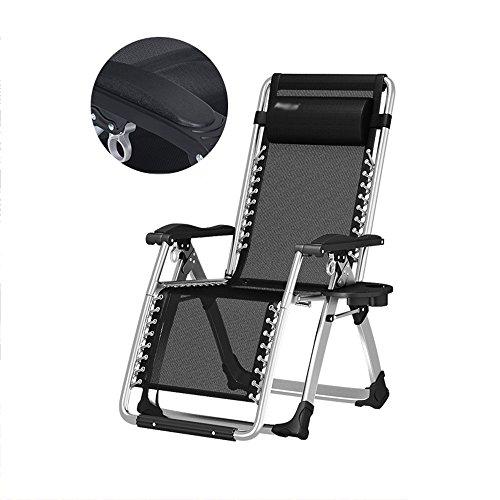 Folding Chair YAN SYF Gartenstuhl, Sommer Strandkorb, Schwerelosigkeit Stuhl, Faule Familie Schwangere Frau Stuhl Atmungsaktive Sonne Faule Stuhl Faltbare Balkon Liegestuhl Sonne Alten Stuhl Stuhl A+