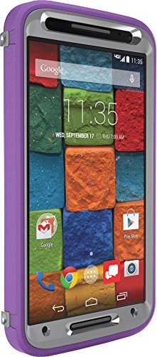 OtterBox Defender Case for Moto X 2nd Gen. - Retail Packaging - Plum Punch