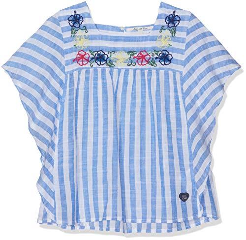 Pepe Jeans Mädchen Caty Bluse, Blau (Electric Blue 554), 8 Jahre (Herstellergröße: 8)