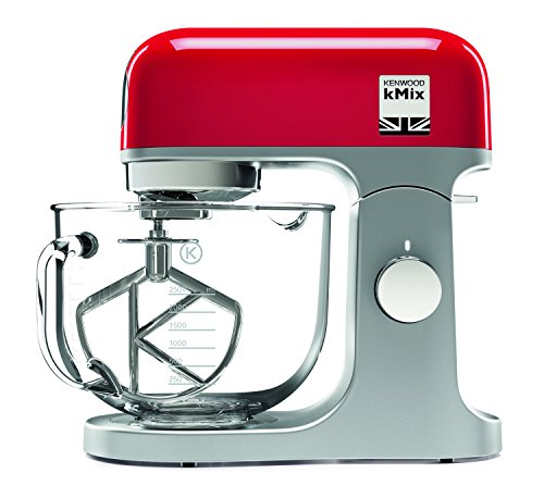 Kenwood kMix Stand Mixer, Stylish kitchen mixer in red with K-beater,...