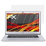 atFolix Schutzfolie kompatibel mit Acer Chromebook 14 CB3-431 Bildschirmschutzfolie, HD-Entspiegelung FX Folie (2X)