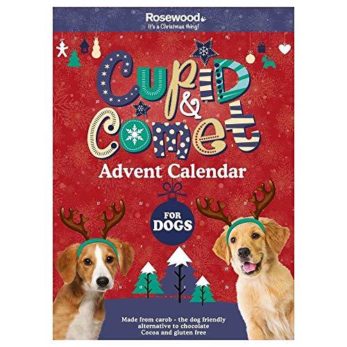 Rosewood Cupid and Comet - Calendario de Adviento para perros (70 g) ✅