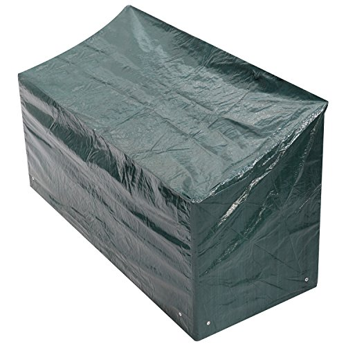 Woodside 4 Seater Outdoor Garden Bench Cover 2m x 0.68m x 0.66-0.91m / 6.6ft x 2.25ft x 2.2-3ft