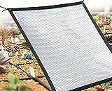Papel De Aluminio Ligero Malla Sombra De Red,Paño De Sombra Red De Sombreado Protector Solar Reflectante,Toldo Vela Parasol Protección Rayos UV y Transpirable Toldo Resistente para Patio, Jardín, E