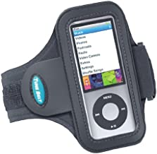 Tune Belt Armband for iPod nano 5th Generation (5G) - Also fits 1st 2nd 4th Generations - AB75 [Black]