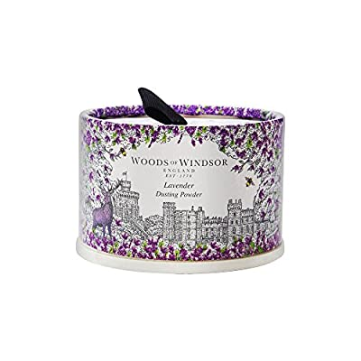Lavender Dusting Powder Talc for her by Woods of Windsor