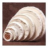 Pulido Rueda 1pcs fibra de algodón del paño de pulido rueda del oro de joyería de plata espejo pulido rueda 3 '-8' herramienta for pulir joyería duro o más blando Rueda de pulido de pulir