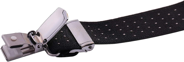 ORSKY Men Boys Bow Tie and Suspenders Set Adjustable Elastic