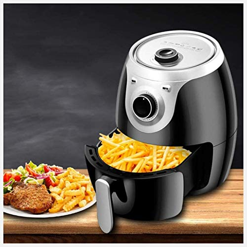 Fryer 4.0L Air Frye 1400W Hot Air Circulating Fries Electric Fryer 4-5 People Timer and Fully Adjustable Temperature Control for Healthy No Frying Non-Stick Pan Best Gift