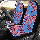 Enoqunt Protector brillante de las cubiertas de asiento de carro del coral del color para el vehículo de SUV del camión del jeap del automóvil