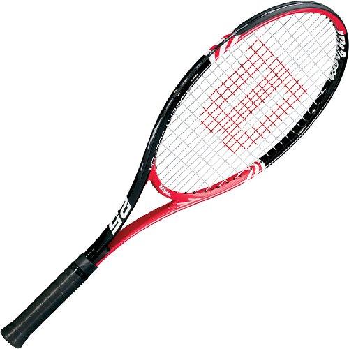 Wilson Kinder Tennisschläger Roger Federer 25, schwarz/rot