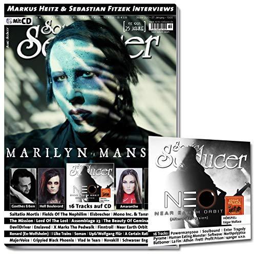 Sonic Seducer 10/2020 Marilyn Manson + 16 Tracks auf CD, im Mag: Goethes Erben, Saltatio Mortis, Fields Of The Nephilim, Eisbrecher, Mono Inc.&Tanzwut, Sebastian Fitzek, Markus Heitz u.v.m.