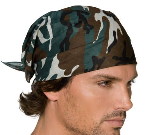 Generique - 351088 - Bandana Militaire Camouflage - Adulte