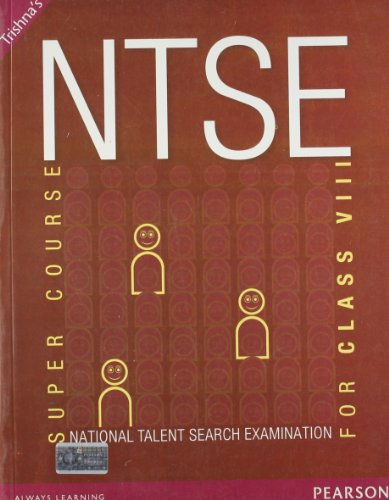 NTSE Super Course For Class VIII (Old Edition)