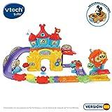 VTech El Parque de Atracciones - Play Set electrónico interactivo con un coche Mickey Gold incluido
