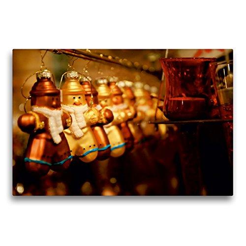 CALVENDO Premium Textil-Leinwand 75 x 50 cm Quer-Format Christmas Geschichten aus Bremen Weihnachtsmarkt, Leinwanddruck von Norderneye