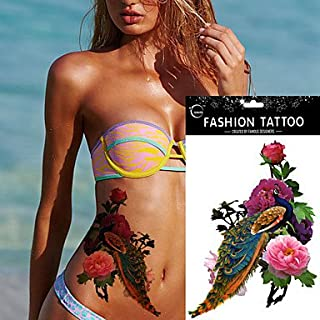Best peacock and flower drawing tattoo Reviews