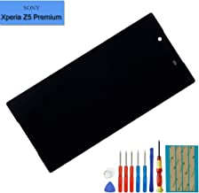 New Replacement LCD Screen Compatible with Sony Xperia Z5 Premium E6853 E6833 LCD Touch Screen Display Assembly with Tools