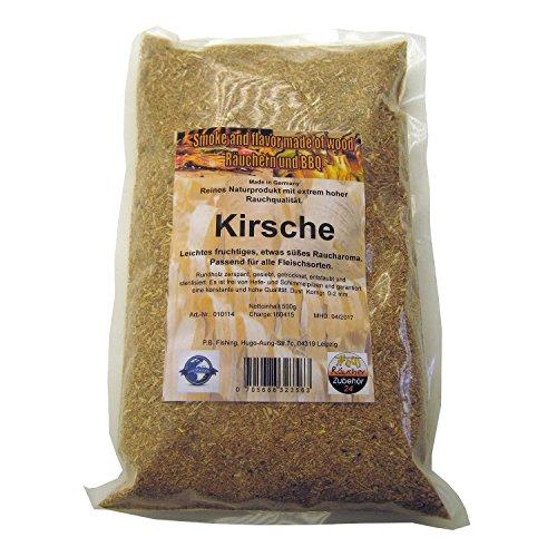 Räuchermehl Kirsche, 500g Räucherspäne vom Kirschholz, Dust, Korngröße 0-2 mm