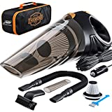 Portable Car Vacuum Cleaner: High Power Corded Handheld Vacuum w/ 16 foot cable - 12V - Be...