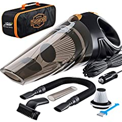 KEEP YOUR CAR PROFESSIONAL LEVEL CLEAN! No more crumbs, dust or dirt! With our ThisWorx Portable Car Vacuum Cleaner you'll be free of any wet or dry messes, even liquids, cigarette ashes or pet hair POWERFUL YET TINY! Our handheld vacuum weighs only ...