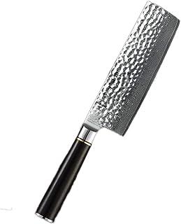 Couteau du Chef Classic Series acier de Damas Nakiri manche de couteau japonais Premium ébène cuisinier couteaux for les c...