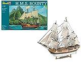 Revell Maqueta H.M.S. Bounty, Kit Modello, Escala 1:110 (5404) (05404), Multicolor