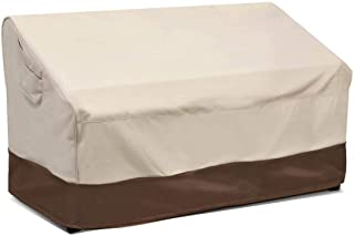 Vailge Heavy Duty Deep Patio Sofa Cover,100% Waterproof Outdoor Sofa Cover, Large Lawn Patio Furniture Covers with Air Ven...