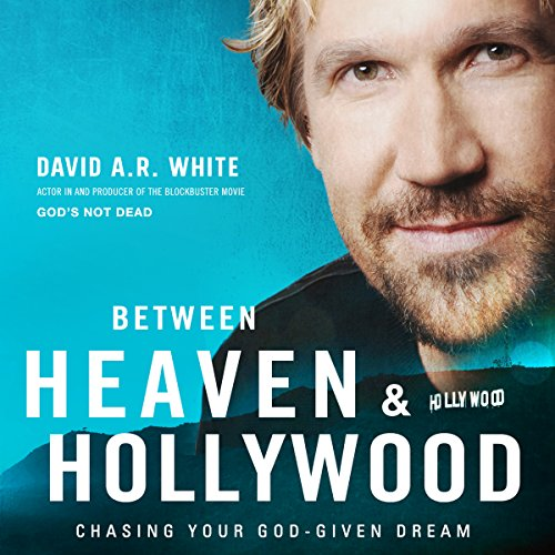 Between Heaven and Hollywood audiobook cover art