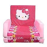 Blenzza Deco Pure Fiber Kids Sofa Cum Bed -(34 x 20 x 28 inches)-Hello Kitty