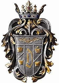 Design Toscano Count Dracula's Coat of Arms Wall Plaque