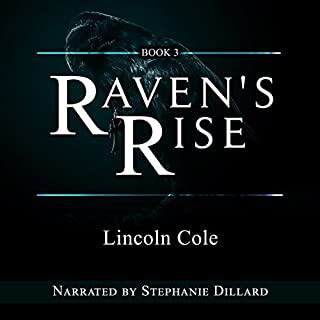 Raven's Rise (World on Fire Book 3) audiobook cover art