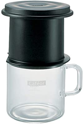 Hario One Cup Cafeor Permantent Filter Drip Brew Coffee Maker CFO-1B