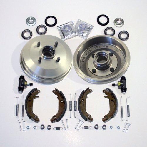 Bremstrommel/Bremsen + Bremsbacken Radzylinder Radlager hinten