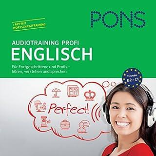 PONS Audiotraining Profi - Englisch Titelbild