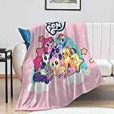Kids Throw Blanket 40'x50' Super Soft for Bed Couch Sofa Lightweight Travelling Camping Throw Size for Kids Adults All Season