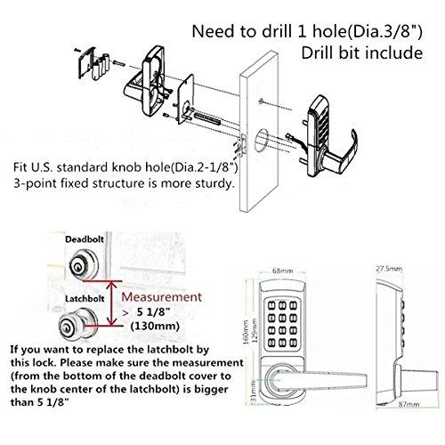 HARFO HL1 Fingerprint Keyless Entry Smart Door Lock …