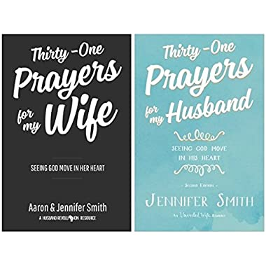 [[Thirty-One Prayers For My Wife+Thirty-One Prayers For My Husband] 2 Book set Aaron Smith