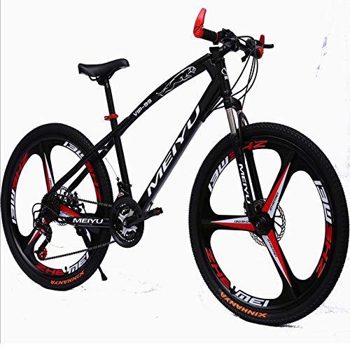 YXWJ Y camino de los hombres de las mujeres Bicicletas 26 pulgadas bicicleta de montaña 21/24/27 plazos de envío Bicicletas Shimano Ruedas Tren de camino de la bicicleta de doble freno de disco Urbana