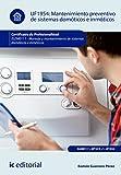 Mantenimiento preventivo de sistemas domóticos e inmóticos. ELEM0111