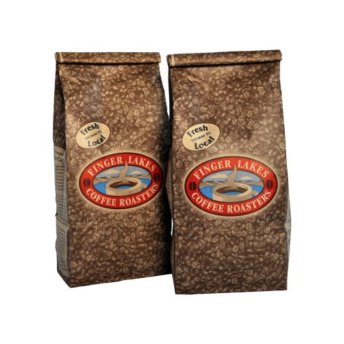 Finger Lakes Coffee Roasters, Graham Cracker Coffee, Ground, 16-ounce bags (pack of two)