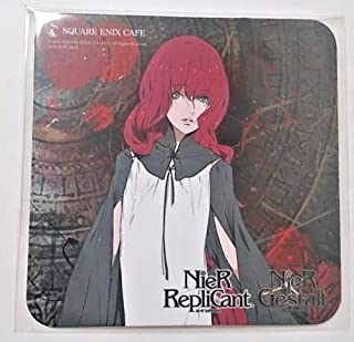 NieR Automata Replicant / Gestalt Coaster Popola Square Enix Cafe Limited F/S
